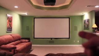 DIY Home Theater Screen