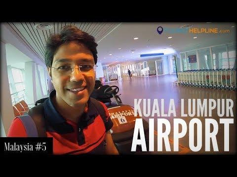 KUALA LUMPUR AIRPORT GUIDE : KLIA 2 (Immigration, Customs, Tourist Sim, Currency Exchange, Etc.)