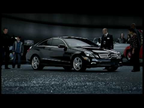 Mercedes-Benz Commercial for Mercedes-Benz E-Class Coupe (2009 - 2010) (Television Commercial)
