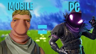 Why Mobile Can Compete With PC In Fortnite