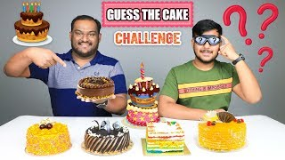 GUESS THE CAKE CHALLENGE   Cake Eating Challenge   Cake Eating Competition   Food Challenge