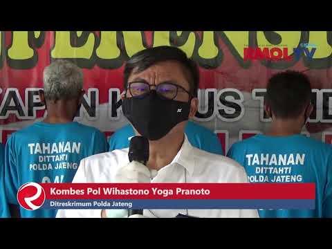 15 Pelaku Perjudian Ditangkap Tim Judisila Ditreskrimum Polda Jateng