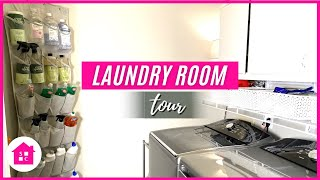 Laundry Room Tour & Organization Ideas 2020 (for Cleaning Supplies)