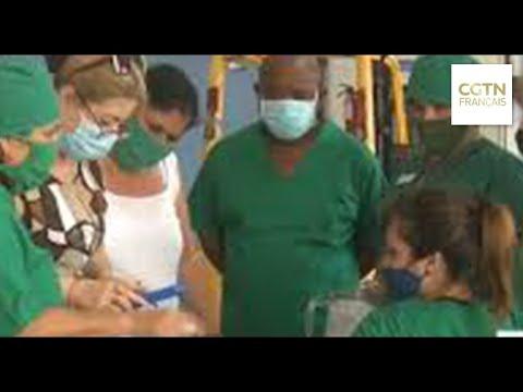 Cuba lance une campagne de vaccination locale Cuba lance une campagne de vaccination locale