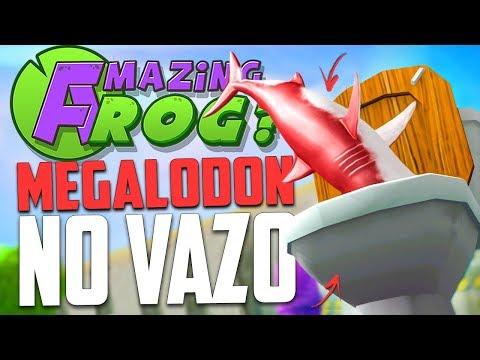 TUBARÃO GIGANTE NO VAZO! - Amazing Frog