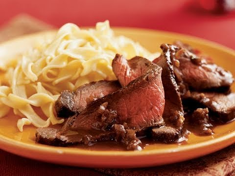 Sirloin Steak with Dijon-Port Sauce Recipe