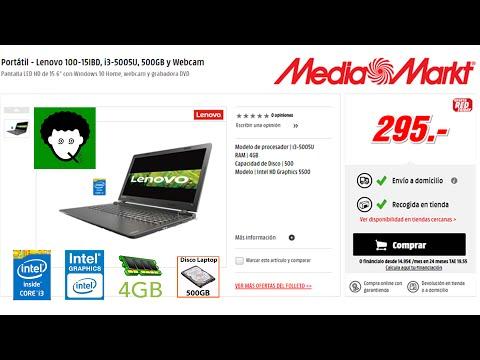 Ordenador portátil Lenovo por 295€ - Oferta exclusiva MediaMarkt