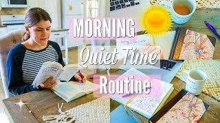 Morning Quiet Time + Devotions Routine!