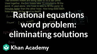 Applying Rational Equations 3