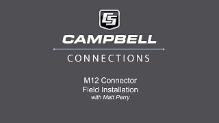 m12 connector field install kit
