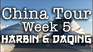 Darts, Dinosaurs & a KTV - China Tour, Week 5 - Harbin & Daqing