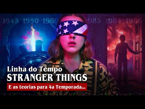 Stranger Things: Linha do Tempo e TEORIAS para 4a Temporada