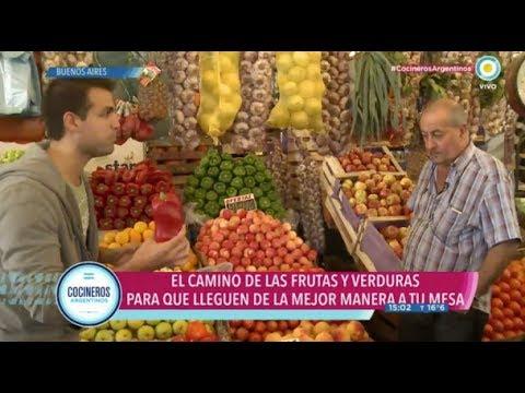 La ruta de las frutas y verduras en el Mercado Central
