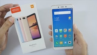 Xiaomi Redmi 6 Budget Smartphone with Dual Camera Unboxing & Overview