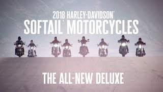The All-New 2018 Harley-Davidson Deluxe