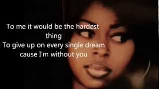 Angie Stone (Don't wanna ride) without you