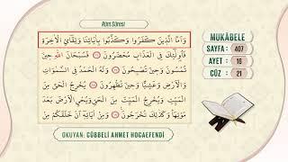 Cübbeli Ahmet Hocaefendi ile Mukâbele 21. Cüz