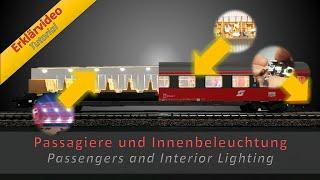 Innenbeleuchtung und Passagiere für Eure Personenwagen / Interior lighting