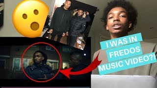 REACTING TO ME BEING IN FREDO X DAVE MUSIC VIDEO!!   ALL I EVER WANTED