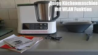 quigg ambiano aldi kchenmaschine mit wlan funktion zubehr 2017