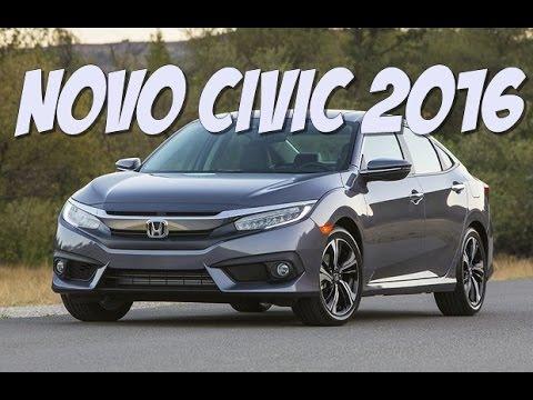 Novo Civic 2016