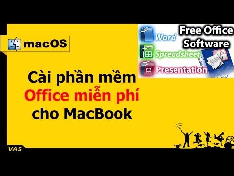 [MacBook - macOS] - Cài phần mềm Office miễn phí - Open Office cho macOS