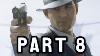 Mafia Definitive Edition Walkthrough Gameplay Part 8 - Better Get Use To It - (Xbox One)