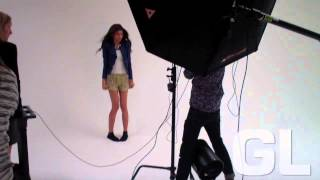 Zendaya Coleman, Behind the Scenes of GL's June/July '14 Cover Shoot with Zendaya