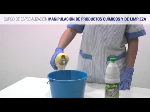 Curso de Manipulación de Productos Químicos y de Limpieza
