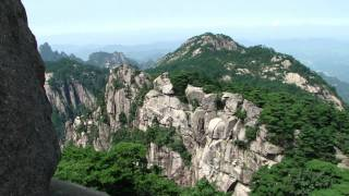 Video : China : Exploring the beautiful HuangShan 黄山 mountain; part 1 (5/8)