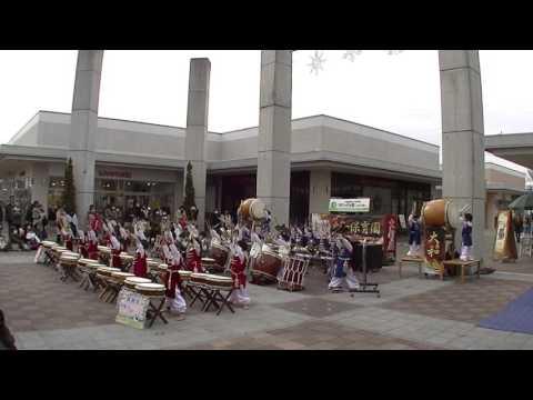 筑西市大和保育園和太鼓演奏 「天昇太鼓」