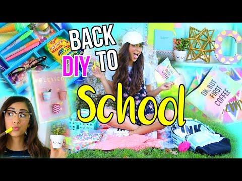 DIY Back to School Room Decor + Organization!
