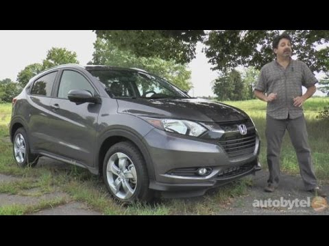 2016 Honda HR-V Video Review