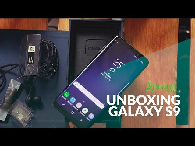 Samsung Galaxy S9, UNBOXING en México