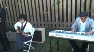 In My Arms by Jon Foreman performed by Ash & Dave of Hey Ocean! at wedding rehearsal