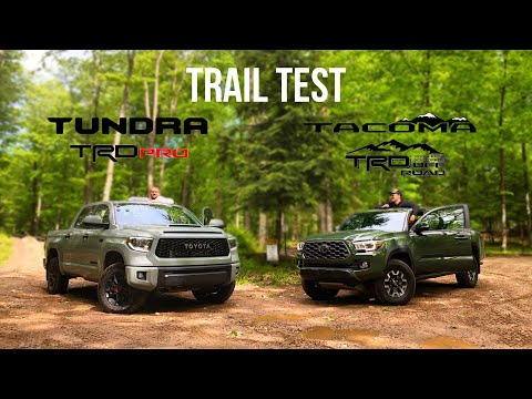 Toyota Tundra TRD PRO & Tacoma TRD Off-Road | Part 2: Offroad Tested