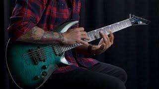 Ltd LTD H-3-1000/FM/BLK TURQ BURST - Video