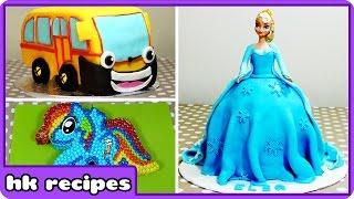 Delicious Cartoon Character Cakes So Good Youll Wish You Had Baked | Birthday Cake Recipes
