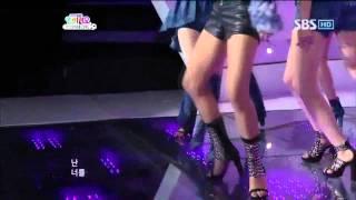 Wonder Girls - 2 Different Tears @ SBS Inkigayo 인기가요 100523