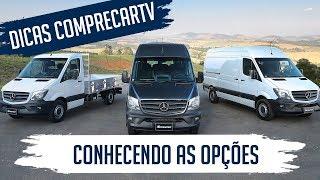 Ver o vídeo Mercedes-Benz Sprinter - Conhecendo as opções