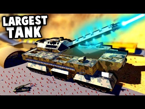 BIGGEST TANK MOD EVER! | Ravenfield Best Mods Gameplay - смотреть