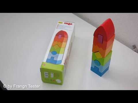 Stapelspiel Regenbogen-Hochhaus - von Haba