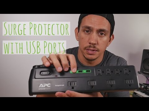 APC Surge Protector (P8U2) with USB Charging Ports