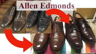 2 Allen Edmonds: From Grimy To Gleaming! (Inspect, Condition, & Polish)