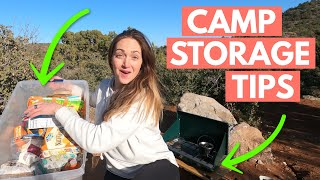 Car Camping ORGANIZATION: CAMPING GEAR TIPS AND HACKS