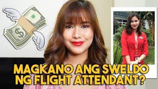 MAGKANO ANG SWELDO NG FLIGHT ATTENDANT | CABIN CREW SALARY