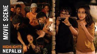 New Nepali Movie LOVE LOVE LOVE Scene | Ft. Swastima Khadka, Suraj Pandey
