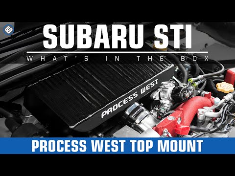 Process West Black Top Mount - Subaru WRX/STI Install/Review