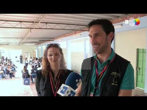 EFE La misión de la UE se adentra en las ciudades de Perú de cara a las elecciones legislativas