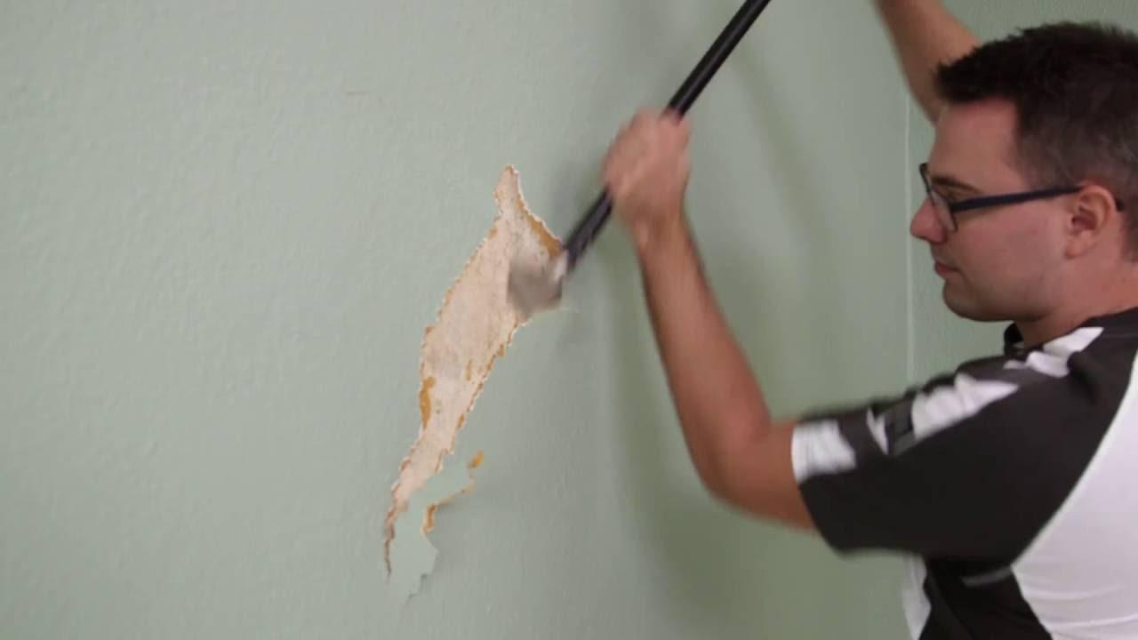 Porady Flügger - Usuwanie tapety